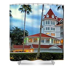 Grand Floridian Resort Walt Disney World Shower Curtain