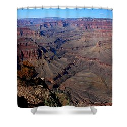Grand Inspiring Landscape Shower Curtain by Patrick Witz