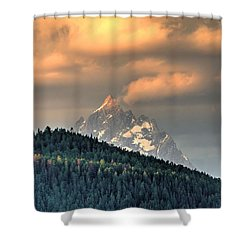Grand Morning Shower Curtain