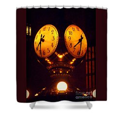 Grand Old Clock - Grand Central Station New York Shower Curtain