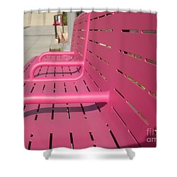 Grand Park Pink Shower Curtain