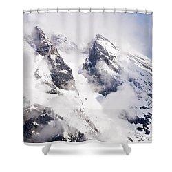 Grand Teton Glacier Shower Curtain