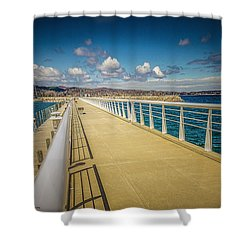 Grand Traverse Bay Shower Curtain