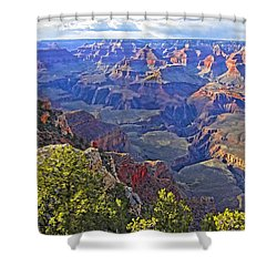 Grand View Canyon Shower Curtain