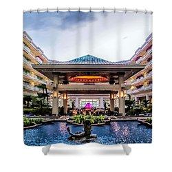 Shower Curtain featuring the photograph Grand Wailea 74 by Dawn Eshelman