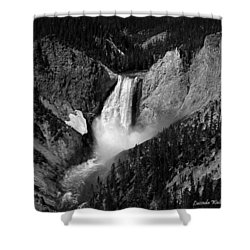 Shower Curtain featuring the photograph Grandeur by Lucinda Walter