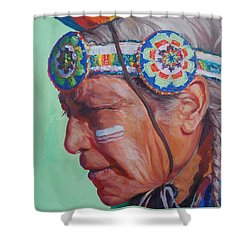 Grandfather Shower Curtain