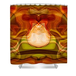 Grandfather Time Shower Curtain by Omaste Witkowski