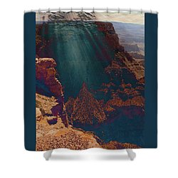 Grandistortion Shower Curtain