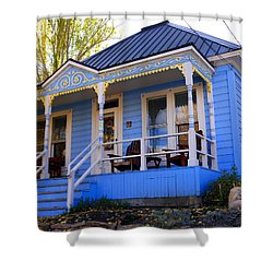Shower Curtain featuring the photograph Grandma's House by Jackie Carpenter