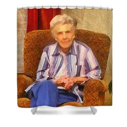Grandmother Shower Curtain by Jeff Kolker