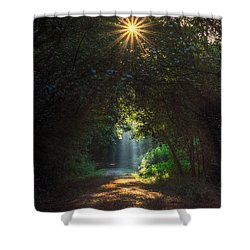 Grandmother's Grace Shower Curtain by William Fields
