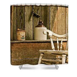 Grandpa's Front Porch Shower Curtain