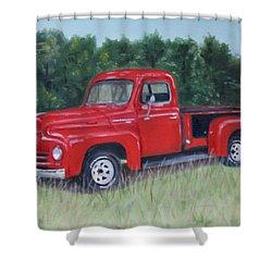 Grandpa's Truck Shower Curtain