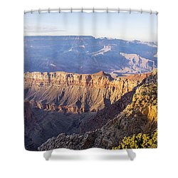 Grandview Sunset 2 - Grand Canyon National Park - Arizona Shower Curtain by Brian Harig