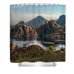 Granite Dells At Watson Lake Shower Curtain