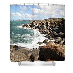 Granite Island Shower Curtain