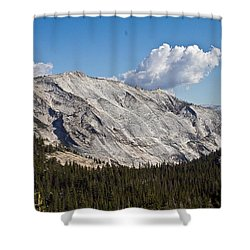 Granite Mountain Shower Curtain