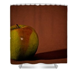 Granny Smith Shower Curtain by Sharon Elliott