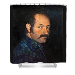 Grant Shower Curtain by Donna Tucker