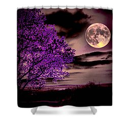 Grape Leaves Shower Curtain by Robert McCubbin