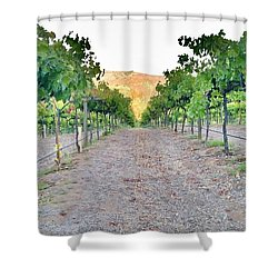 Grape Vines Shower Curtain
