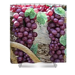 Grapes Shower Curtain by Tim Hightower