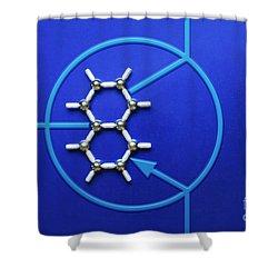 Graphene Transistor Shower Curtain by GIPhotoStock