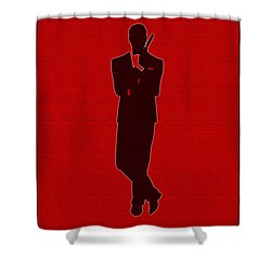 Graphic Bond 3 Shower Curtain by Andrew Fare