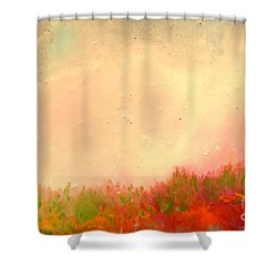 Grass Fire Shower Curtain