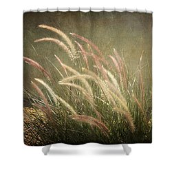 Grasses In Beauty Shower Curtain