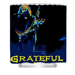 Shower Curtain featuring the photograph Grateful Dead - In Concert by Susan Carella