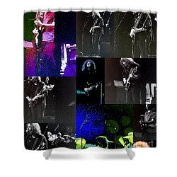 Grateful Dead - Nothing Like A Grateful Dead Concert Shower Curtain by Susan Carella