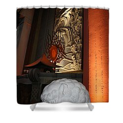 Grauman's Chinese Theatre Shower Curtain by David Nicholls