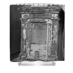 Shower Curtain featuring the photograph Grave I by Beth Vincent