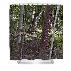 Grave Site Shower Curtain