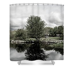 Grays Mill Pond Shower Curtain