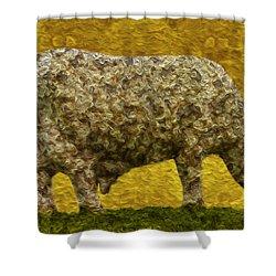 Grazing 2 Shower Curtain by Jack Zulli