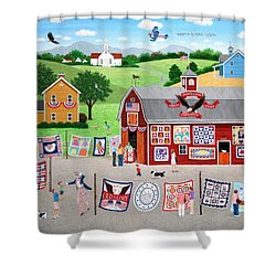 Great American Quilt Factory Shower Curtain by Wilfrido Limvalencia