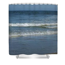 Great Beach Day Shower Curtain by John Wartman