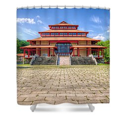 Great Buddha Hall Shower Curtain