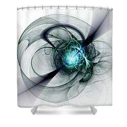 Great Collapse Shower Curtain by Anastasiya Malakhova