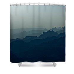 Great Crevice Shower Curtain