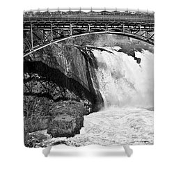 Great Falls In Paterson Nj Shower Curtain