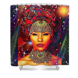 Great Lady Malkia Shower Curtain