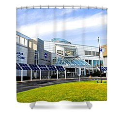 Great Lakes Science Center Shower Curtain by Frozen in Time Fine Art Photography