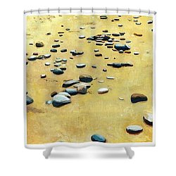 Great Lakes Triptych 2 Shower Curtain