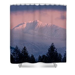 Shower Curtain featuring the photograph Great Northern by Jack Bell