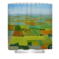Great Plains Shower Curtain