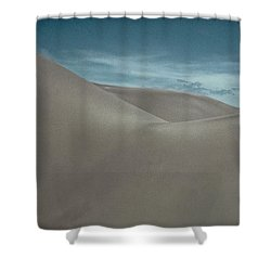 Shower Curtain featuring the photograph Great Sand Dunes by Don Schwartz